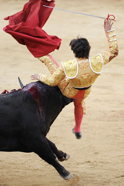 BULLFIGHTING-SPAIN-SAN FERMIN